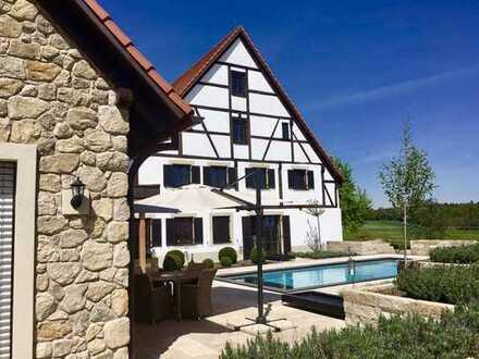 Romantisches Luxus-Gestüt in Alleinlage in Bayern - 313-15-99
