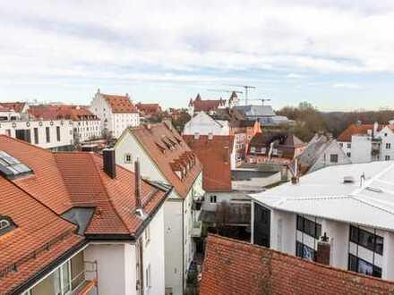 Die wahrscheinlich beste Aussicht Ingolstadts: 200 m² Wohnung über 3 Ebenen