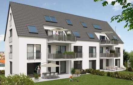 4-Zimmer-Maisonette-Wohnung mit Loggia im 1. + 2. DG