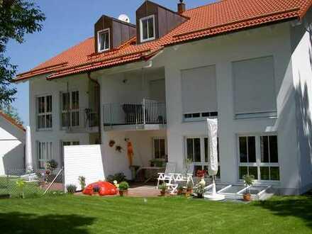 4-Zimmer-Wohnung mit Garten in Parsdorf