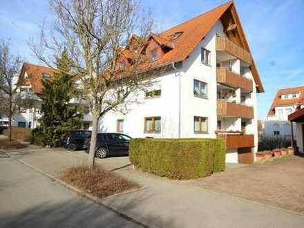 Helle Wohnung in Rottenburg mit Einbauküche, Balkon und TG-Stellplatz