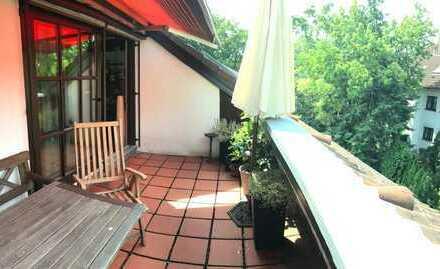 Exclusive, ruhig gelegene 2-Zimmer Wohnung mit Sonnenloggia in Erlenstegen