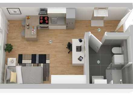 Wohnen in der Göppingener City: Kernsaniertes Appartement - als Kapitalanlage geeignet