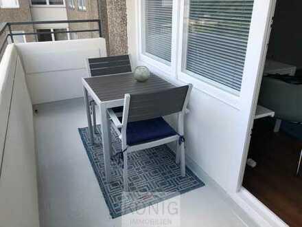 1-Zi-Whg - möbliert und komplett ausgestattet - mit Balkon in Botnang! Objekt-Nr. 2517