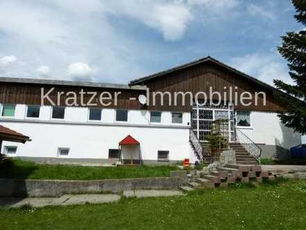 Interessantes Objekt mit 2 Wohnhäusern und Platz für ein kleines Gewerbe südlich von Kempten
