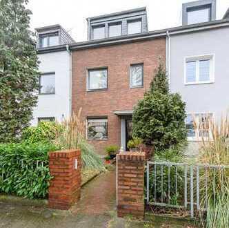 Schönes RMH mit 5 Zimmern u. Garten in Düsseldorf-Flehe (Bieterverfahren, von privat)