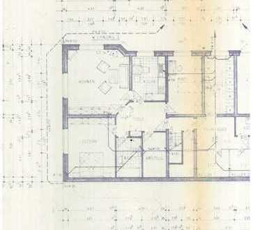 Schöne vier Zimmer Wohnung in Borchen mit Garten