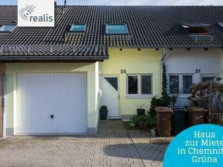 Raus an den Stadtrand+Gemütliches Haus in Chemnitz-Grüna mieten+4 Zimmer+Garten+Garage