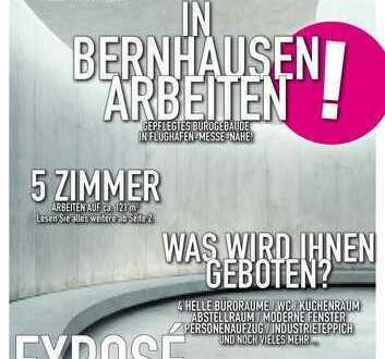 120 qm Büroräume in Filderstadt-Bernhausen -Autobahn/Flughafen/Messe Nähe!!!!