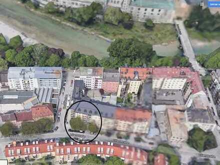 Stilvolle sanierte 2,5-Zimmer-Wohnung Lilienstrasse München direkt an der Isar in der Au