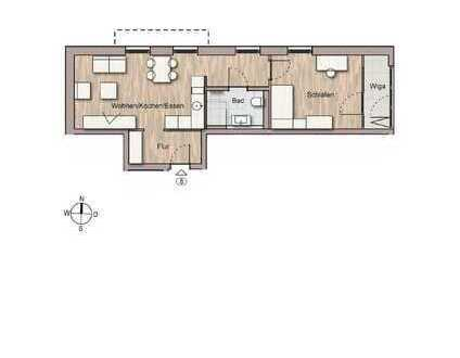 Apart und kompakt wohnen (Whg. 8)