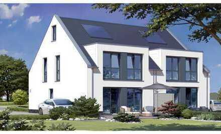 Neubau / Doppelhaushälfte / 5 Zimmer / ca. 154 m² / KfW-Standard 55