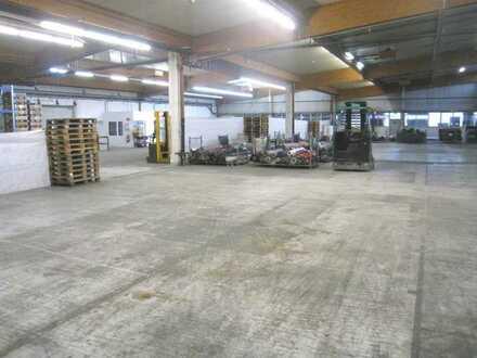 1.919 m² PRUDUKTIONS-/ LAGERHALLE SOWIE 135 m² ODER 540 m² BÜROFLÄCHE IN AUTOBAHNNÄHE