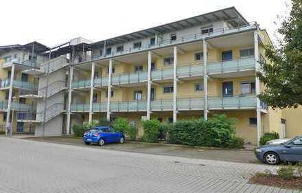 Vermietete Zwei-Zimmerwohnung mit Balkon im betreuten Wohnen in Stutensee-Blankenloch