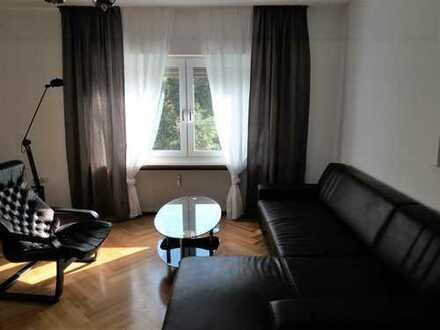 Möblierte, modernisierte 3-Zimmer-Garten-Wohnung