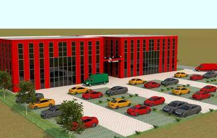 ** Zweiter Bauabschnitt im Interpark Ingolstadt