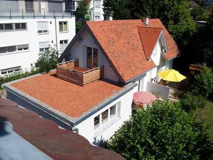 Kleines Häuschen in Aeschach - Terrasse, Balkon, Gartenmitbenutzung