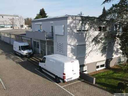 Halle mit Büro verkehrsgünstig im GE Roßweid nahe BAB 5