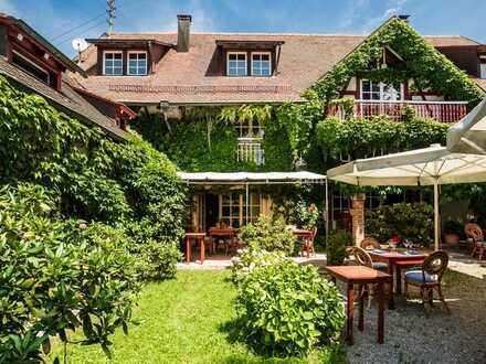Liebevoll restaurierter Gutshof mit Hotel, Restaurant und Ausbaureserve in idyllischer Lage