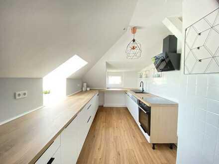 Mit Liebe zum Detail und sensationellem Blick - 3-Raum-Wohnung im DG - Provisionsfrei