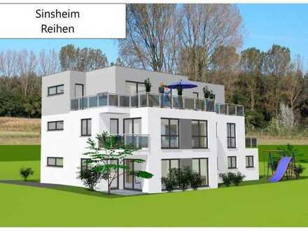 Barrierefreie 2-Zimmer-EG-Neubauwohnung zu vermieten