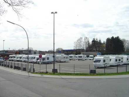 Ausstellungsgelände an der B70 - direkt an der A30 Abfahrt Rheine-Nord