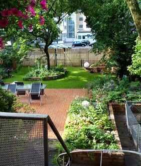 Exklusive, neuwertige 3-Zimmer-Hochparterre-Wohnung mit 200qm Garten und EBK in Hannover