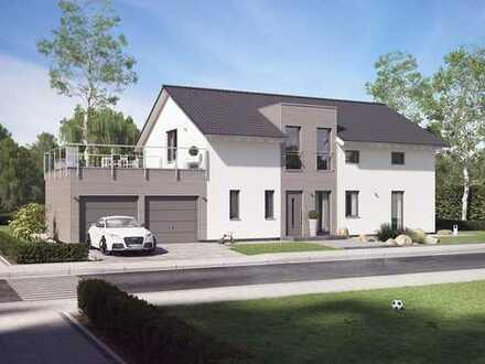 Jetzt bis zu 63000€ Förderung für Ihr Projekt sichern! Neubau Zweifamilienhaus bei Immendorf