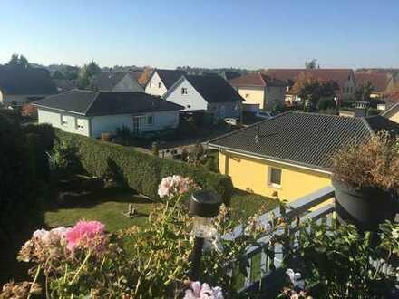 Schöne 1,5-Zimmer-DG-Wohnung mit Südbalkon in Woltersdorf