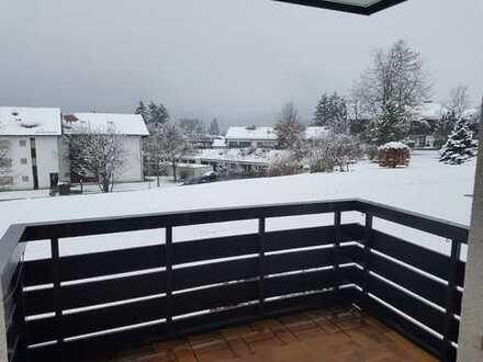 Gepflegte 2-Zimmer-Hochparterre-Wohnung mit Balkon und EBK in Füssen - Weissensee