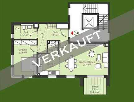 Urbane 2 Zi. Neubau ETW im 2.OG mit Balkon- auch für Kapitalanleger