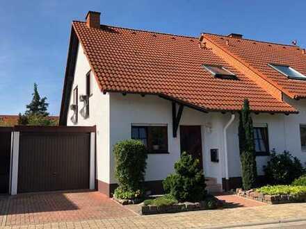 Familienfreundliche Doppelhaushälfte mit Garten und Garage in herrlicher Wohnlage von Maxdorf