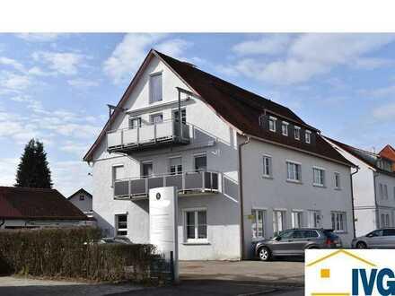 Großzügige Gewerbe-/Praxisräume mit 8 Parkflächen im Zentrum von Leutkirch!
