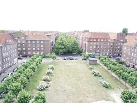Schön geschnittene 3-Zimmer-Wohnung mit Balkon und EBK am Geibelplatz in Hannover