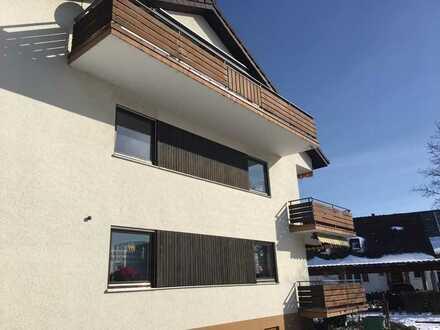 $ Zimmer-Wohnung mit Gartenanteil in einem 3 Familienhaus in Weisweil