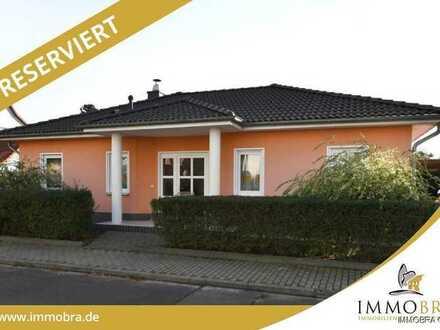 Schönes Einfamilienhaus als Winkelbungalow in Wusterwitz