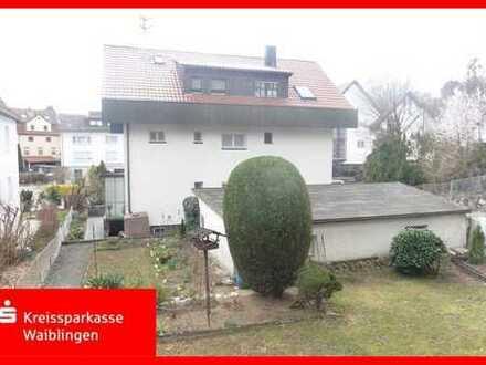 Großes Haus mit Garten in innenstadtnähe von Backnang!