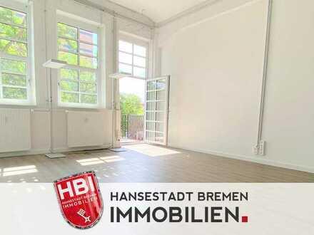 Woltmershausen / Modernes Büroloft in schöner Lage mit Balkon