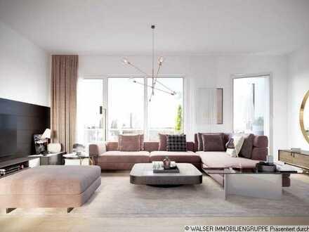 WALSER: Die Krönung: XXL-Penthouse im begehrten Münchener Südwesten