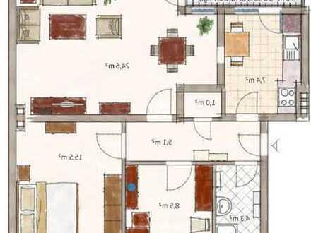 Neusanierte Wohnung mit 69 m² (3,5 Zimmer)