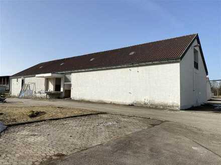 Lager/Gewerbehalle in Kißlegg zu vermieten.