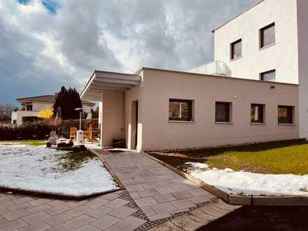 Stilvolle, neuwertige 3,5-Zimmer-Erdgeschosswohnung mit Terrasse und Garten in Coburg