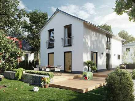 NEUBAU EFH mit Grundstück in Fuchstal-Leeder, KFW 55 mit Hobbykeller
