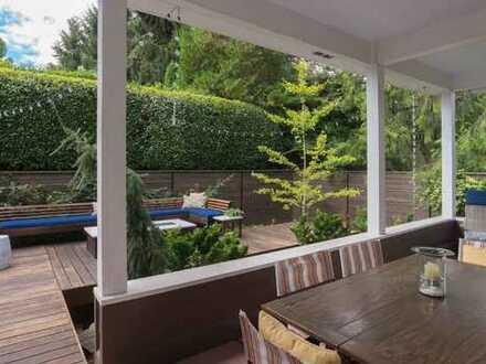 Wohnung mit Garten im wundervollen Varkiza