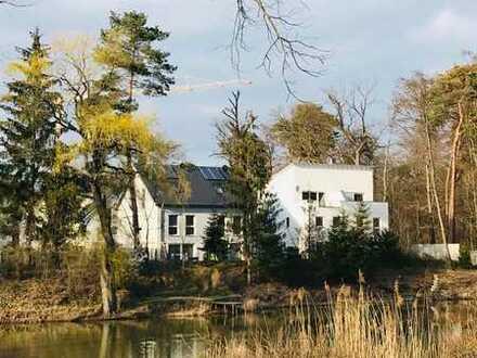 Neuwertige Doppelhaushälfte in Dieburg mit Südblick auf den See