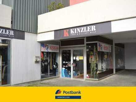Ladenlokal in gefragter Einkaufslage von Göppingen mit zwei TG-Stellplätzen