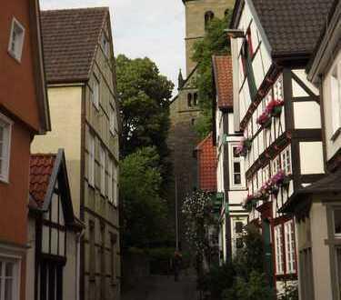 historisches freistehendes u. unter Denkmalschutz stehenes Fachwerkhaus im Zentrum von Werl