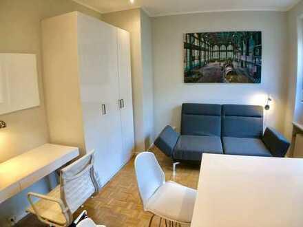 1 Zimmerappartment südliche Auffahrtsallee Nymphenburg