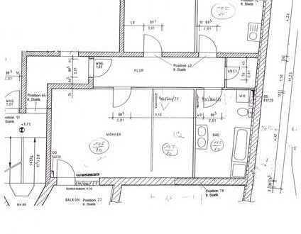 Ansprechende 3-Zimmer-Wohnung mit Balkon in Bad Lobenstein