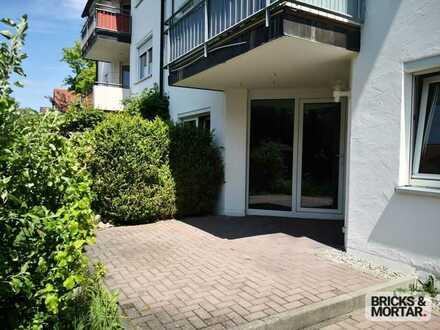 3-Zimmer-Wohnung mit Terrasse und Stellplatz in Memmingerberg